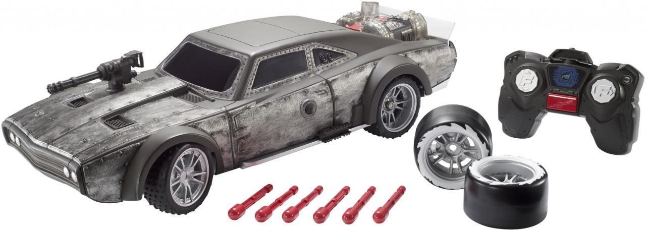 <p>Based on the model featured in the upcoming 'Fate of the Furious,' this 16-inch car can even fire missiles. Available this fall for $59.99 (Mattel) </p>