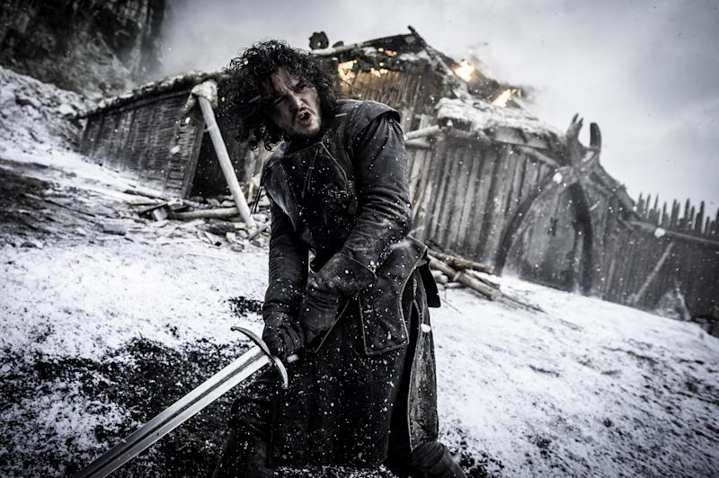 Kit Harrington in Game Of Thrones' Hardhome