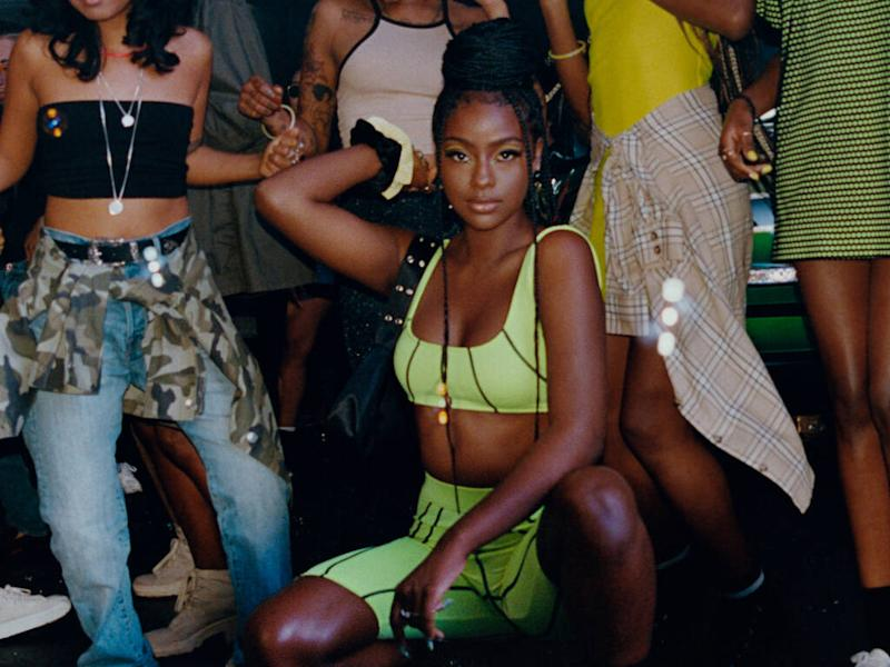 Justine Skye designs festival-ready collection for H&M