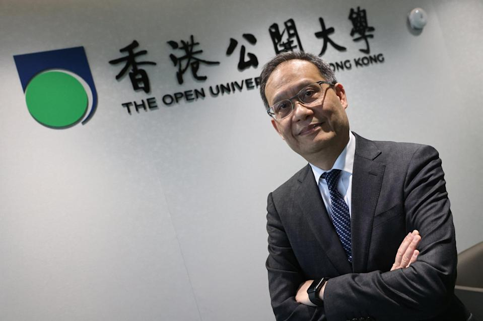 Newly appointed president of Open University Paul Lam. Photo: K.Y. Cheng