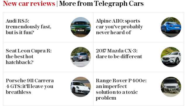 New car reviews | More from Telegraph Motoring