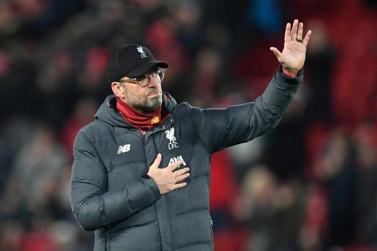 Jurgen Klopp says he supports the suspension of Premier League matches