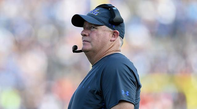 The Chip Kelly era in Los Angeles did not get off to a good start, with UCLA dropping one of the most winnable games on its brutal schedule. (AP)
