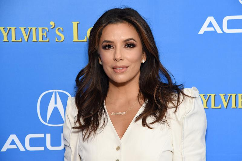 """PARK CITY, UTAH - JANUARY 27: Eva Longoria attends the after party for """"Sylvie's Love"""" at Acura Festival Village on January 27, 2020 in Park City, Utah. (Photo by Michael Kovac/Getty Images for Acura)"""