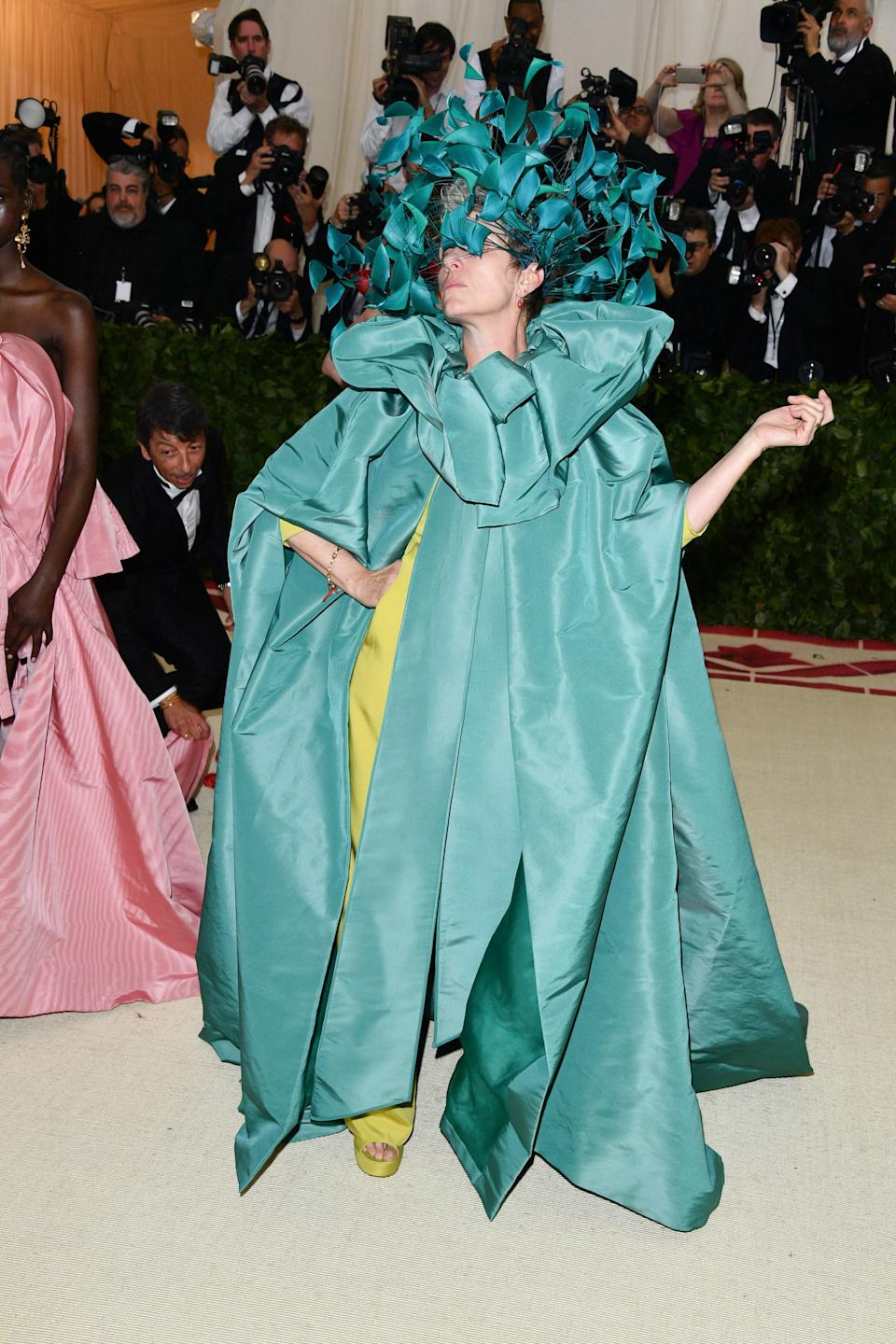 """<h1 class=""""title"""">Frances McDormand in Valentino, 2018</h1><cite class=""""credit"""">Photo: Getty Images</cite>"""