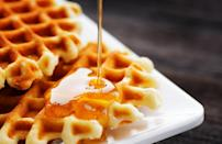 "<p>Montana is all about its waffles. According to Google data, waffle recipes were frequently searched in the state. Get a little creative by adding some crispy bacon to your waffle mix, bringing some savory flavors into an otherwise sweet breakfast. What else was Montana whipping up? <a href=""https://www.thedailymeal.com/recipe/spiced-holiday-sugar-cookies?referrer=yahoo&category=beauty_food&include_utm=1&utm_medium=referral&utm_source=yahoo&utm_campaign=feed"" rel=""nofollow noopener"" target=""_blank"" data-ylk=""slk:Sugar cookies"" class=""link rapid-noclick-resp"">Sugar cookies</a>.</p> <p><a href=""https://www.thedailymeal.com/best-recipes/bacon-waffles?referrer=yahoo&category=beauty_food&include_utm=1&utm_medium=referral&utm_source=yahoo&utm_campaign=feed"" rel=""nofollow noopener"" target=""_blank"" data-ylk=""slk:For a Bacon Waffle recipe, click here."" class=""link rapid-noclick-resp"">For a Bacon Waffle recipe, click here.</a></p>"