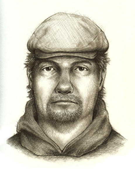"FILE - This composite sketch released July 17, 2017, by the Indiana State Police shows the man they consider the main suspect in the killings of teenage girls Liberty German, and Abigail Williams who disappeared from a hiking trail near their hometown of Delphi on Feb. 13, 2017. State Police are to make an announcement about the investigation into the 2017 killings of the two girls found dead on a hiking trail. State police say Superintendent Doug Carter will discuss how the investigation has gone in a ""new direction"" during a Monday April 22, 2019 news conference in Delphi. (Indiana State Police via AP, File)"