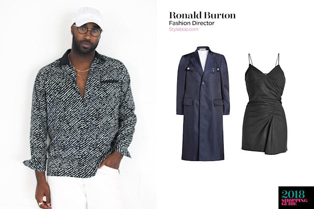 Ronald Burton, fashion director, Stylebop. (Photo: Courtesy of Stylebop)
