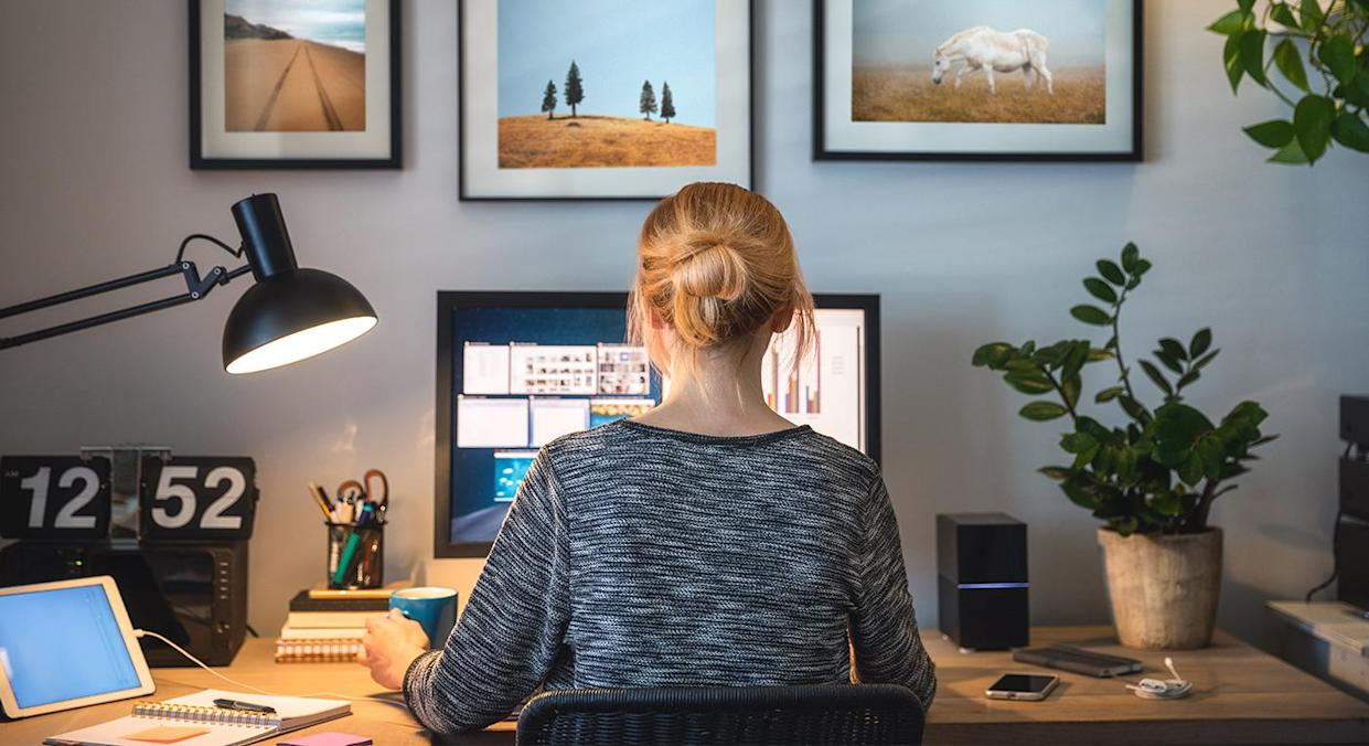 Fed up of your home office taking over? We have a solution. (Getty Images)