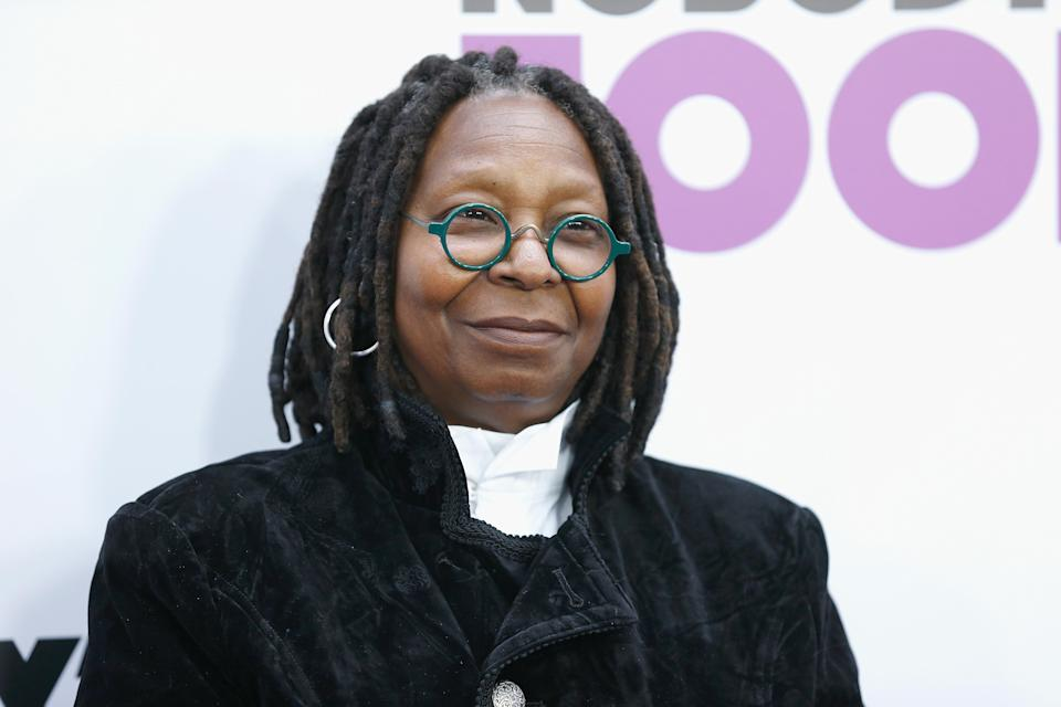 Whoopi Goldberg. Image via Getty Images.