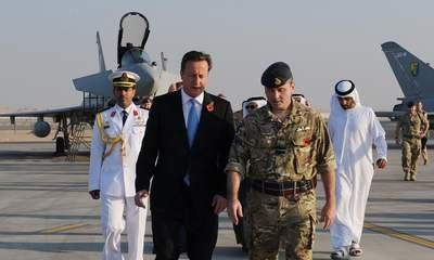 Delicate Diplomacy On Cameron Gulf Arms Tour