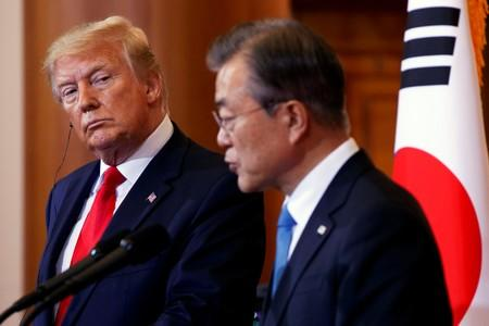 South Korea's Moon, Trump expected to meet at U.N. amid hopes for new North Korea talks