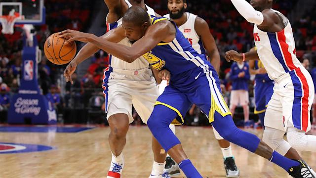 Golden State Warriors star Kevin Durant posted 36 points, 10 rebounds, seven assists and five blocks on Friday.