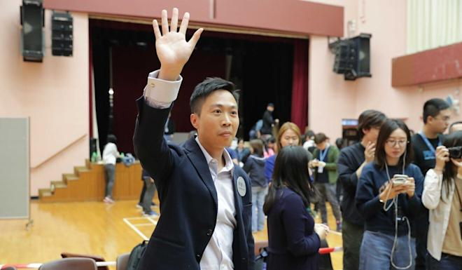 Kelvin Lam is hoping to run for the financial services sector seat. Photo: Edmond So