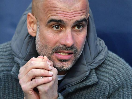 Pep Guardiola, manager of Manchester City (AFP/Getty Images)