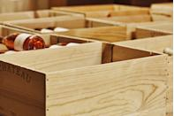 <p>While Costco doesn't have any use for the crates the bottles come in, the display-worthy wooden boxes are great for your own wine storage or any other DIY projects you might have at home.</p>