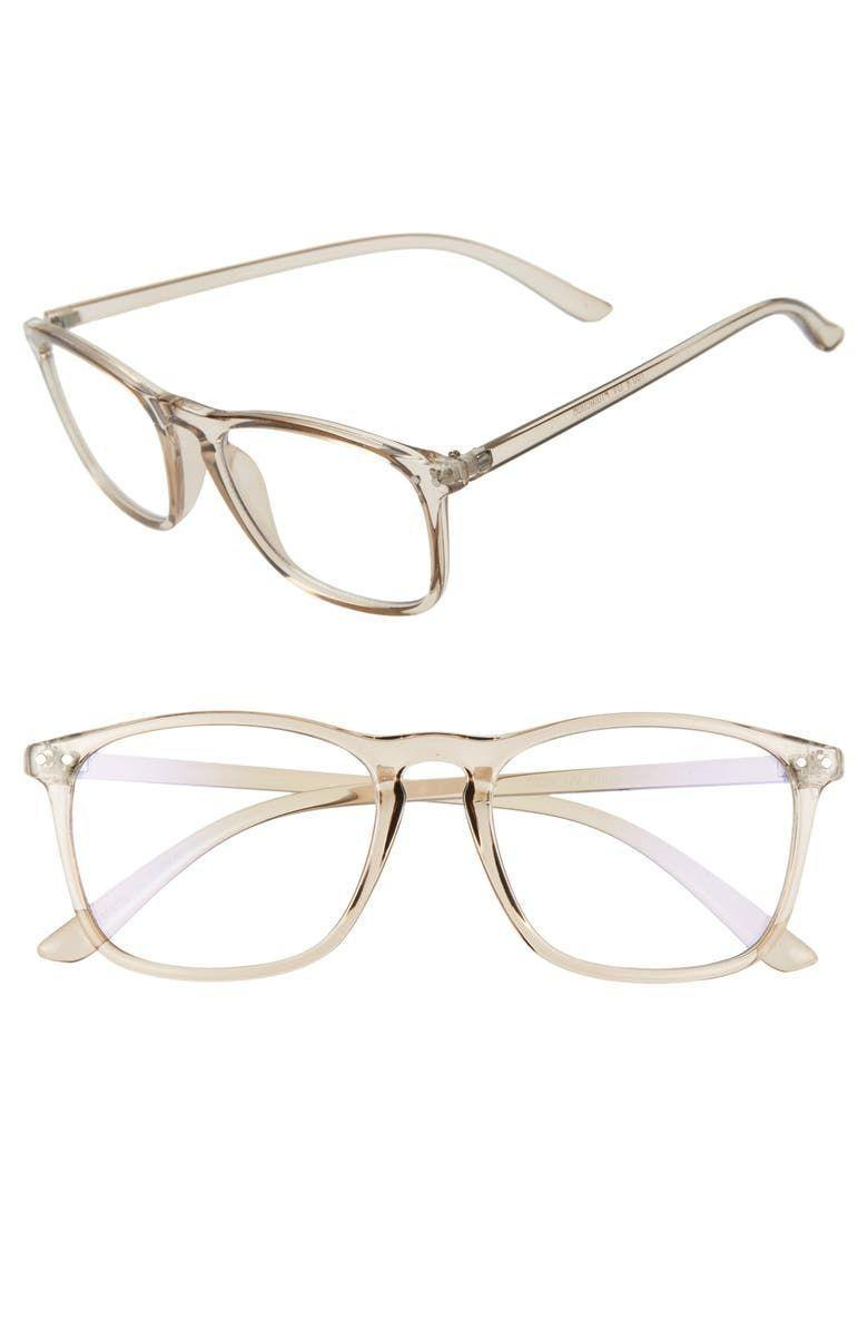 """<p>Nordstrom</p><p><strong>$15.00</strong></p><p><a href=""""https://go.redirectingat.com?id=74968X1596630&url=https%3A%2F%2Fwww.nordstrom.com%2Fs%2Fbp-52mm-blue-light-blocking-square-glasses%2F5432195&sref=https%3A%2F%2Fwww.menshealth.com%2Ftechnology-gear%2Fg32270252%2Fcheap-mothers-day-gifts%2F"""" rel=""""nofollow noopener"""" target=""""_blank"""" data-ylk=""""slk:BUY IT HERE"""" class=""""link rapid-noclick-resp"""">BUY IT HERE</a></p><p>Save her eyes from digital strain with a pair of affordable and effective blue light blocking glasses. The light color and neutral frame looks good on any complexion and face shape. </p>"""
