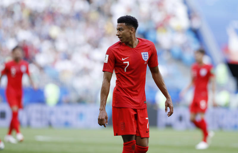 buy cheap 2e955 c7266 The stats prove Jesse Lingard is England's World Cup star