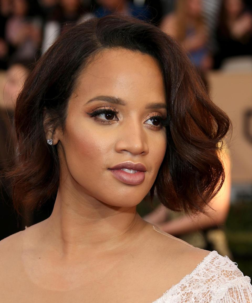 """<strong><h2>Dascha Polanco</h2></strong>The <em>Orange is the New Black</em> actress proves that rich red highlights are the easiest way to refresh natural brunette hair.<span class=""""copyright"""">Photo: Dan MacMedan/WireImage.</span>"""