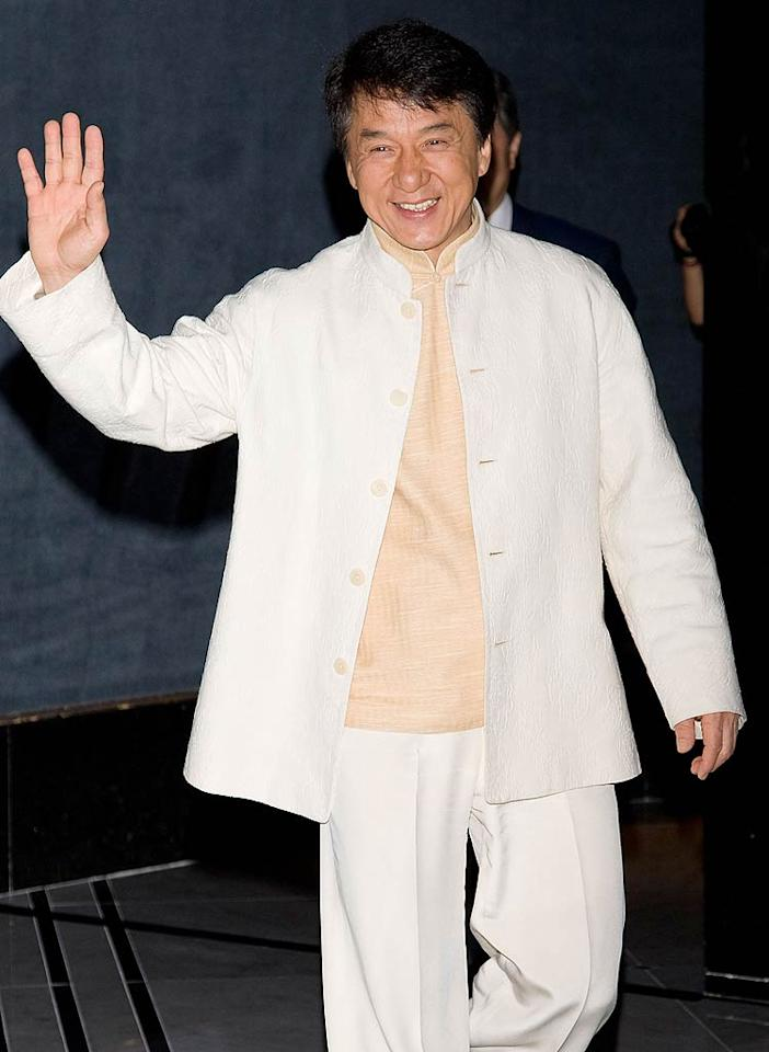 "April 7: Jackie Chan turns 57 Han Myung-Gu/<a href=""http://www.wireimage.com"" target=""new"">WireImage.com</a> - August 23, 2010"