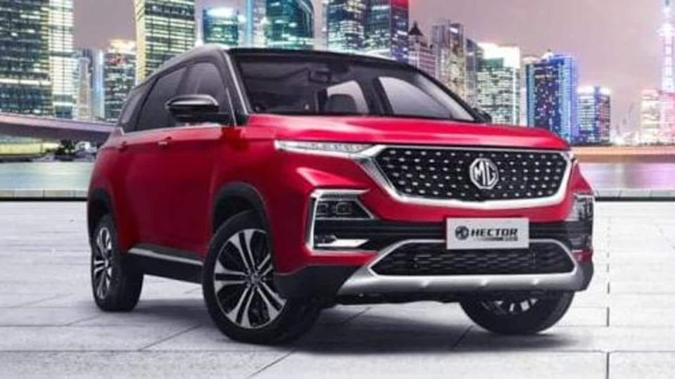 2021 MG Hector CVT SUV launched at Rs. 16.51 lakh