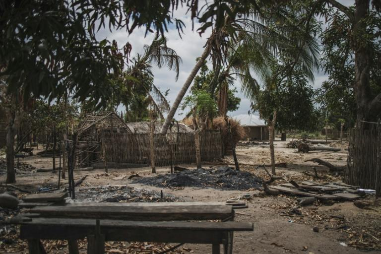 Aftermath of a jihadist attack in August 2019 on the village of Aldeia da Paz. A recent slowdown in rural assaults may point to a switch of tactics, some analysts think
