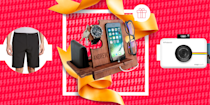 """<p>Sorry to pile on the pressure here, but there's no time like the present to pick out a Valentine's Day gift for your partner.</p><p>If you haven't had a lot of luck finding the perfect gift for your S.O. in the past, you already know this holiday can feel pretty damn nerve-wracking. It truly is a special kind of pain to see a gift you bought the special person in your life (whether you've been dating for years or just <a href=""""https://www.womenshealthmag.com/relationships/a28659664/exclusive-dating/"""" rel=""""nofollow noopener"""" target=""""_blank"""" data-ylk=""""slk:DTRd the other day"""" class=""""link rapid-noclick-resp"""">DTRd the other day</a>) collecting dust in the corner of the living room. <br><br>But this year's going to be different. Why, you ask? Because you've got this list of 53 best Valentine's Day <a href=""""https://www.womenshealthmag.com/life/a19949982/gifts-for-boyfriend/"""" rel=""""nofollow noopener"""" target=""""_blank"""" data-ylk=""""slk:gifts for your boyfriend"""" class=""""link rapid-noclick-resp"""">gifts for your boyfriend</a>/husband/partner/whatever you wanna call your man that's he's practically guaranteed to love (almost as much as you—<em>almost</em>). It's a curated collection showcasing the best of everything on the internet—I'm talking workout recovery tools, grooming products, tricked-out cameras, the works. <br><br>Now that the hard part's complete, all you have to do is wrap it up and watch him smile. </p>"""