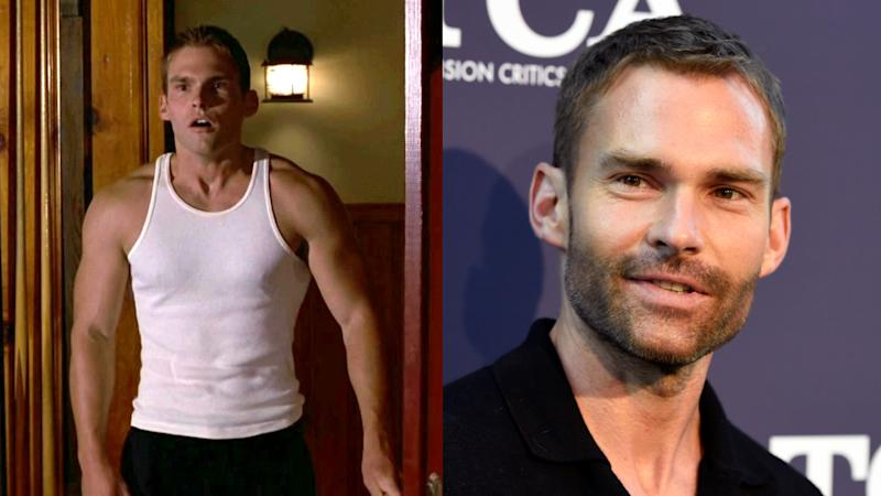 Seann William Scott in 1999 and 2018. (Credit: Universal/Chris Pizzello/Invision/AP)