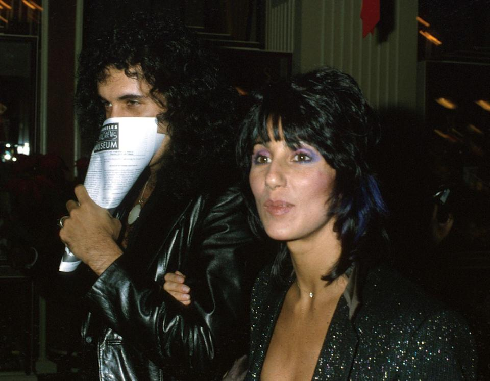 <p>After her relationship with Geffen ended, singer and actress Cher dated KISS frontman Gene Simmons in the late 1970s. Until...</p>