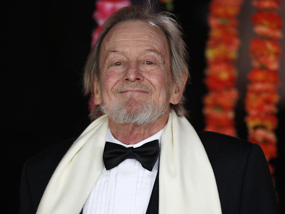 Ronald Pickup on the red carpet ahead of the Royal and World Premiere of 'The Second Best Exotic Marigold Hotel' in central London on 17 February, 2015 (JUSTIN TALLIS/AFP via Getty Images)