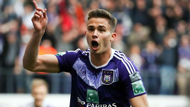 The Belgium international has arrived at Molineux with a view to joining the Premier League new boys permanently from Anderlecht next summer