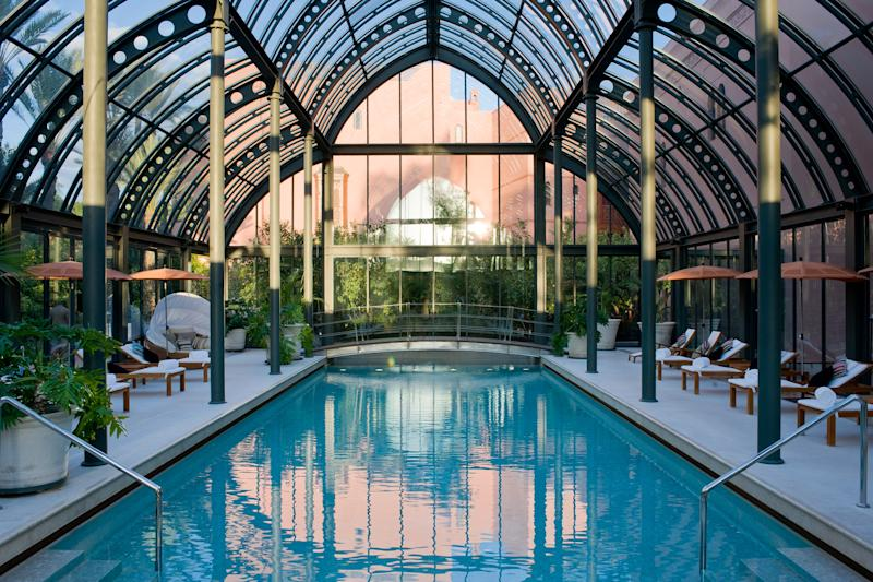 The ethereal spa at the Royal Mansour is a feat of design. - guillaume de laubier