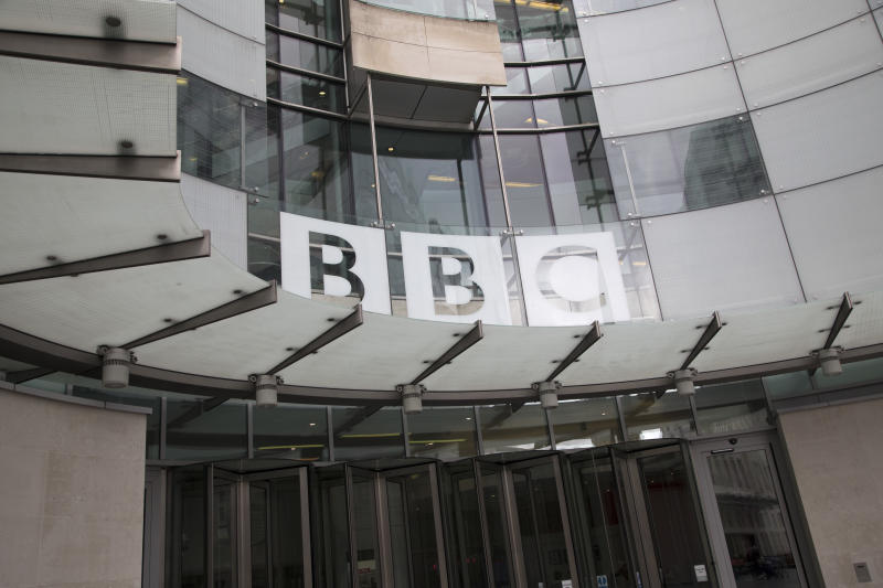 BBC headquarters, BBC Broadcasting House, Portland Place, London, England, United Kingdom. The main building was refurbished, withradio stations BBC Radio 3, BBC Radio 4, and the BBC World Service transferred to refurbished studios within the building. The extension links the old building and includes a new combined newsroom for BBC News, with studios for the BBC News channel, BBC World News and other news programming. The move of news operations from BBC Television Centre was completed in March 2013. (photo by Mike Kemp/In Pictures via Getty Images Images)