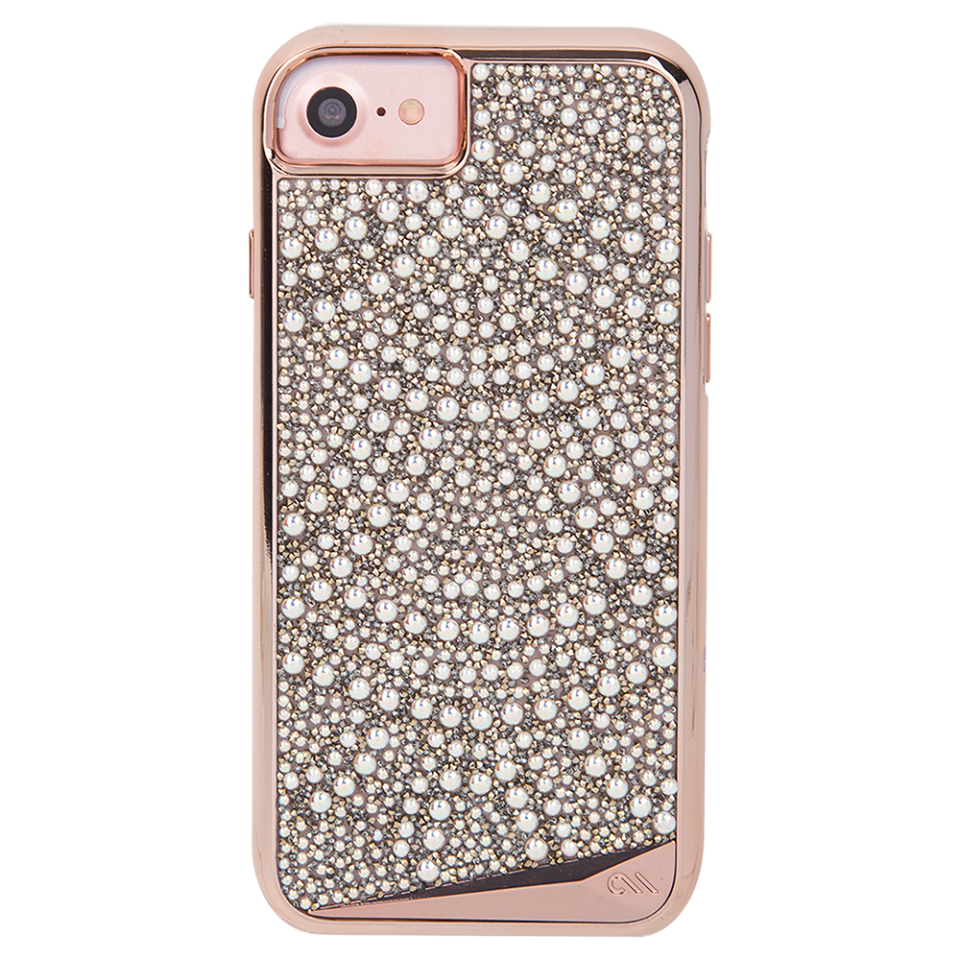 "<p><em><strong>Kaitlyn Frey, Style & Beauty Assistant: </strong></em>It sounds funny to say it, but when it comes to finding the perfect iPhone case, it takes me months and months to settle on the right style. But once I laid eyes on Casemate's sparklers, I knew I needed to stock up -- ASAP. Right now, I am loving this iridescent pearl gem and bronze glitter covered case for its aesthetic, but also because it allows my phone to survive heart-wrenching drops on the pavement. <strong>Buy It! </strong>Casemate Brilliance Tough Lace, $80; <a rel=""nofollow"">case-mate.com</a></p>"