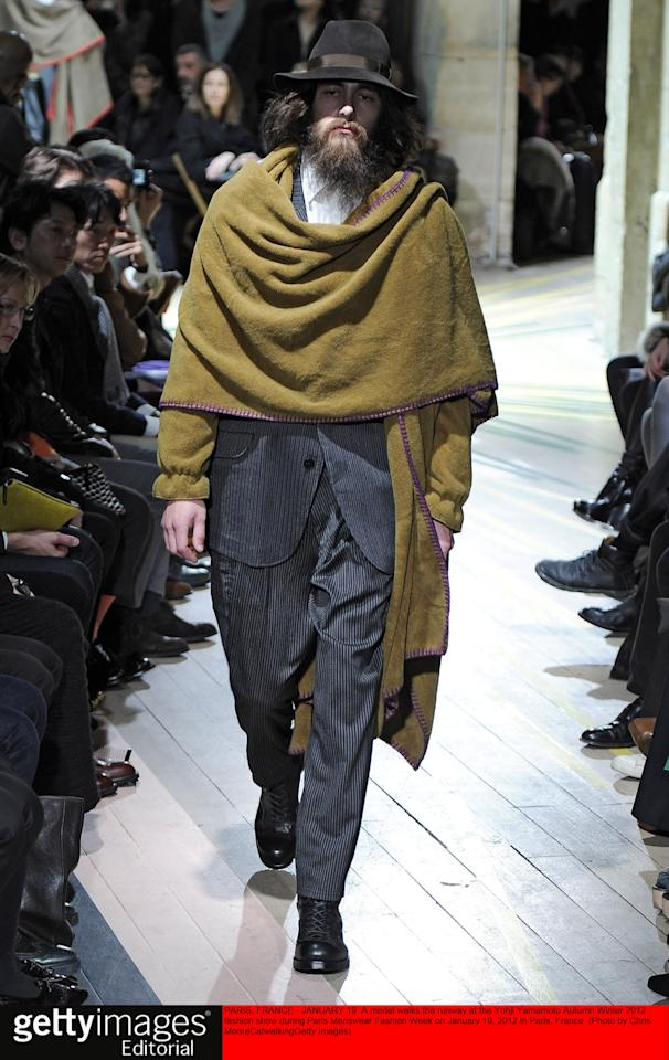 Paris: A/W 2012 Menswear collections