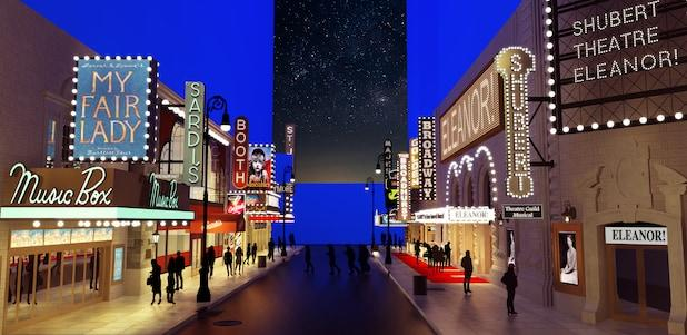 The Prom Broadway Rendering View 1