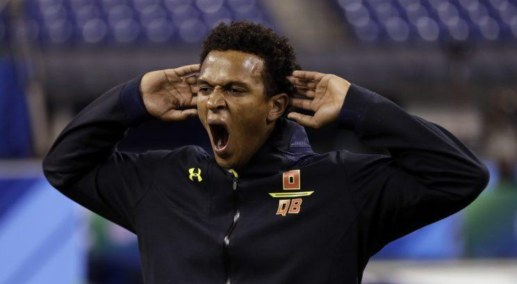DeShone Kizer might need a flawless pro day to assume the top spot among QBs in this draft class. (AP)