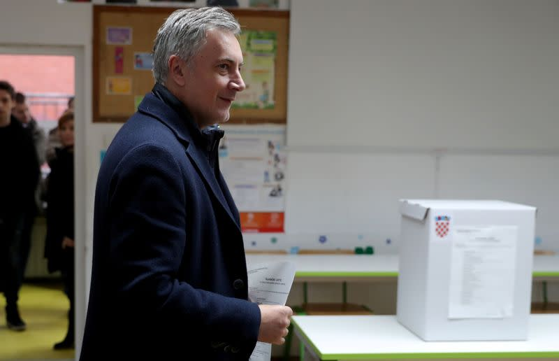 Presidential election in Croatia