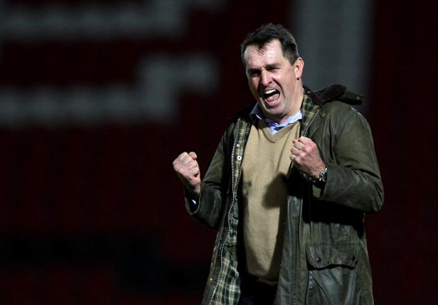 Martin Allen was delighted with his invisible Shake Weights (Getty)