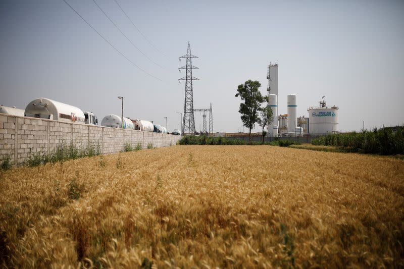 View of oxygen plant in Ghaziabad