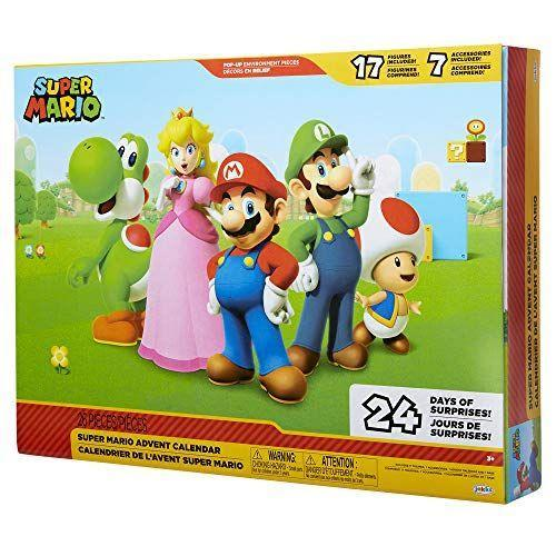 "<p><strong>Super Mario</strong></p><p>amazon.com</p><p><strong>$44.84</strong></p><p><a href=""https://www.amazon.com/dp/B07KW5B5GB?tag=syn-yahoo-20&ascsubtag=%5Bartid%7C10055.g.28939299%5Bsrc%7Cyahoo-us"" rel=""nofollow noopener"" target=""_blank"" data-ylk=""slk:Shop Now"" class=""link rapid-noclick-resp"">Shop Now</a></p><p>You don't have to break open question blocks for these Super Mario-themed surprises. Plus, after they're open, your kids can play Super Mario without needing a screen. <em>Ages 3+</em></p>"