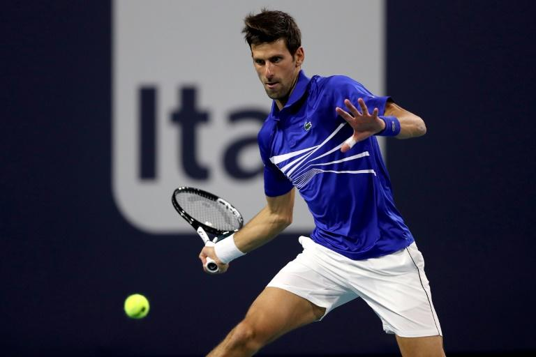 World number one Novak Djokovic arrived desperate to land what would be a record seventh title in South Florida