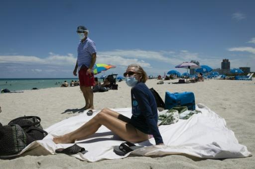 Several US states including tourism hub Florida are experiencing surges in coronavirus infections, raising concerns about the pace of ending lockdowns