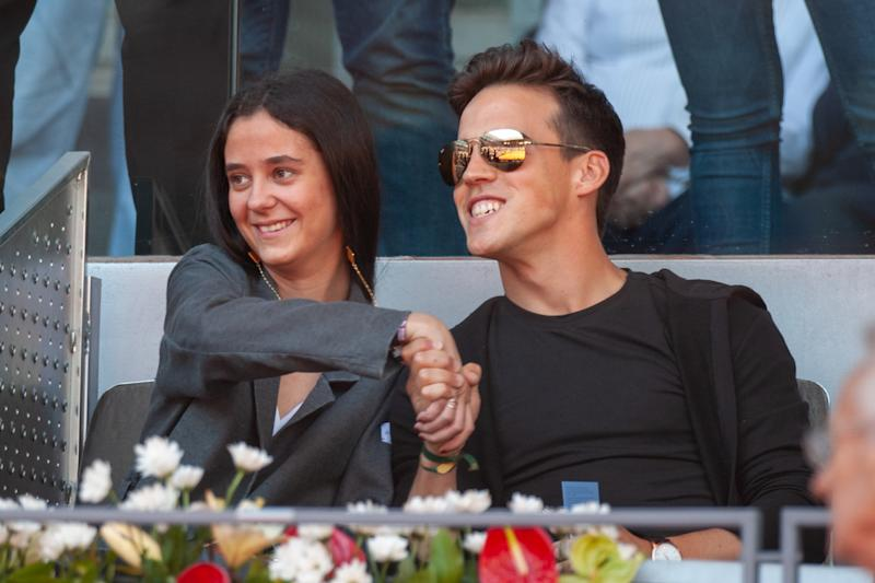 MADRID, SPAIN - MAY 10: Victoria Federica and Gonzalo Caballero attend Mutua Madrid Open at Caja Magica on May 10, 2019 in Madrid, Spain. (Photo by Europa Press Entertainment/Europa Press via Getty Images)