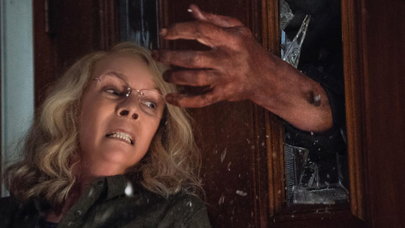 Jamie Lee Curtis returned as Laurie Strode in the 2018 reboot of 'Halloween'. (Credit: Universal)