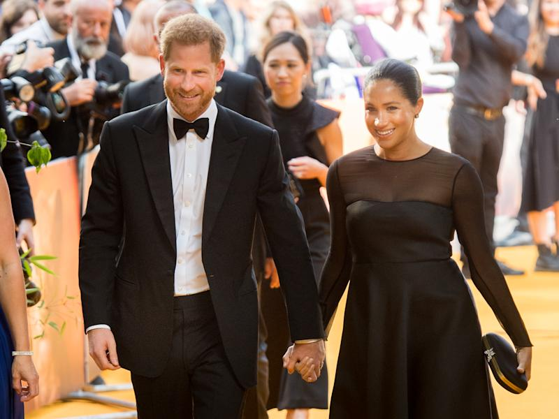 Prince Harry and Meghan Markle's birthday wish to Prince George has been slated. Photo: Getty Images