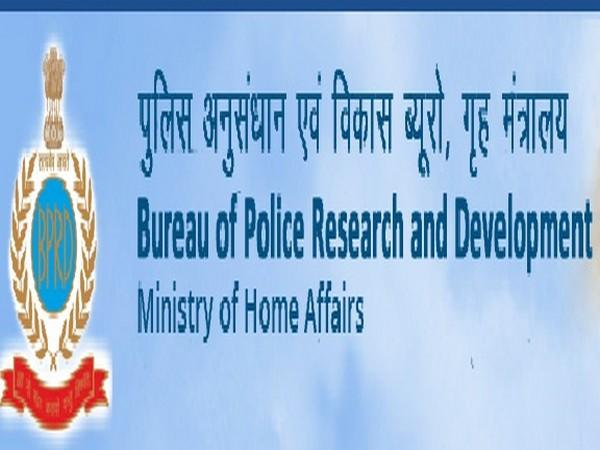Image Source: Screen shot from the website of Bureau of Police Research and Development.