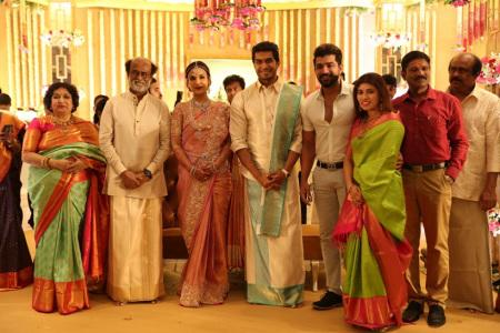 Arun Vijay at soundarya rajinikanth Vishagan Vanangamudi's wedding