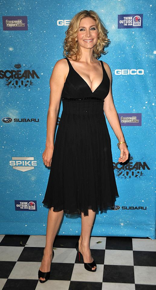 """<a href=""""http://movies.yahoo.com/movie/contributor/1800311255"""">Elizabeth Mitchell</a> at the 2009 Spike TV Scream Awards in Los Angeles - 10/17/2009"""