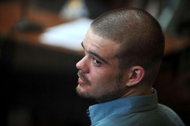 PHOTO: Dutch national Joran Van der Sloot is pictured during a hearing at the Lurigancho prison in Lima, Jan.11, 2011. (Ernesto Benavides/AFP/Getty Images)
